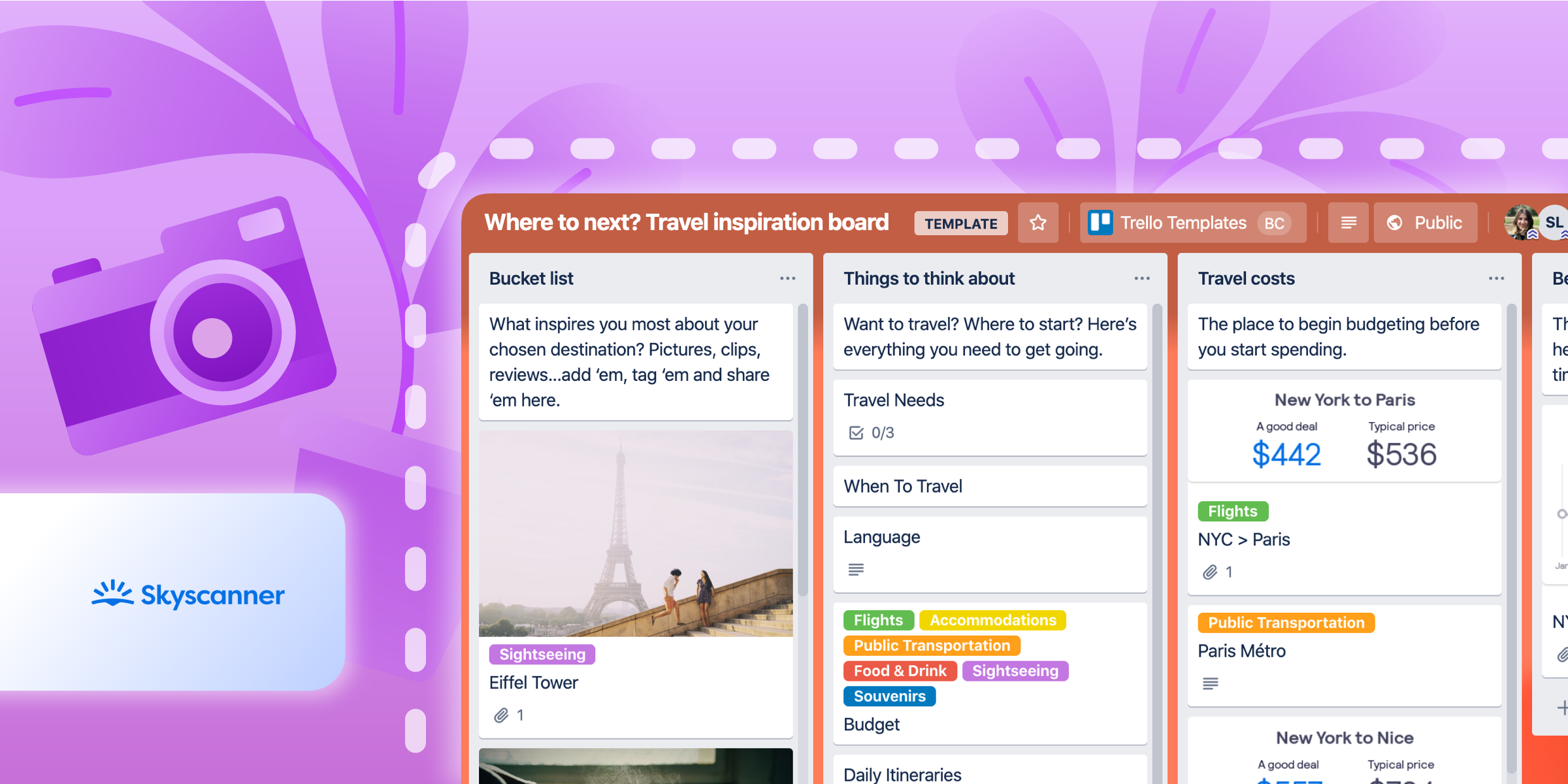 How Trello & Skyscanner Make Vacation Planning A (Sea)Breeze