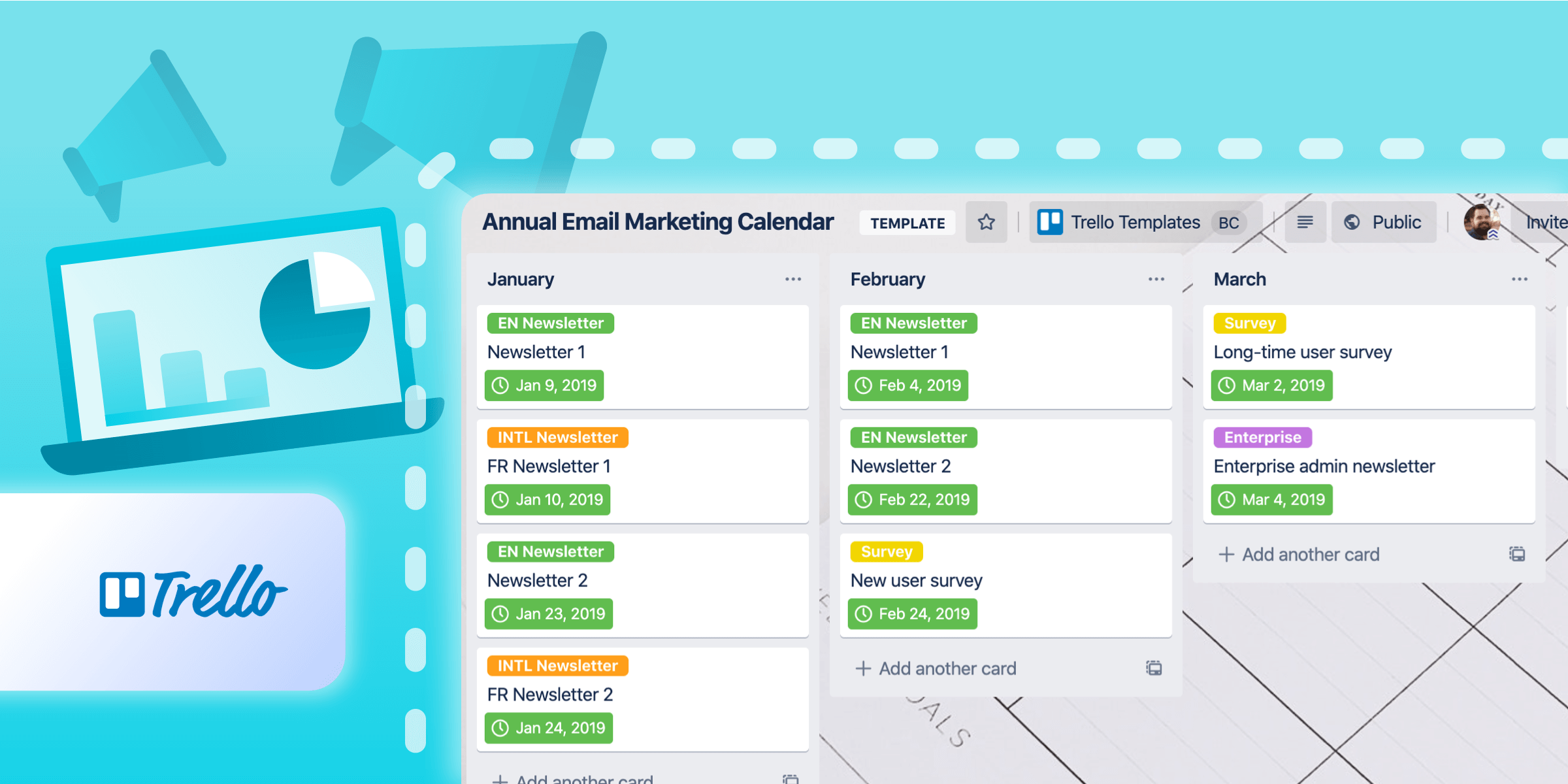 How To Visually Plan Your Email Calendar With Trello