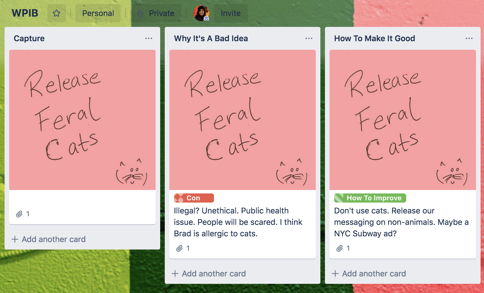 How to use Post-It Note App with Trello