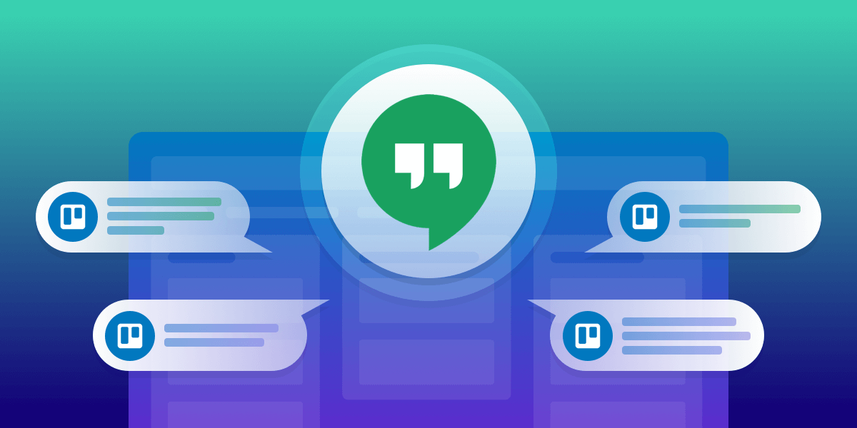 Trello for Google Hangouts Chat