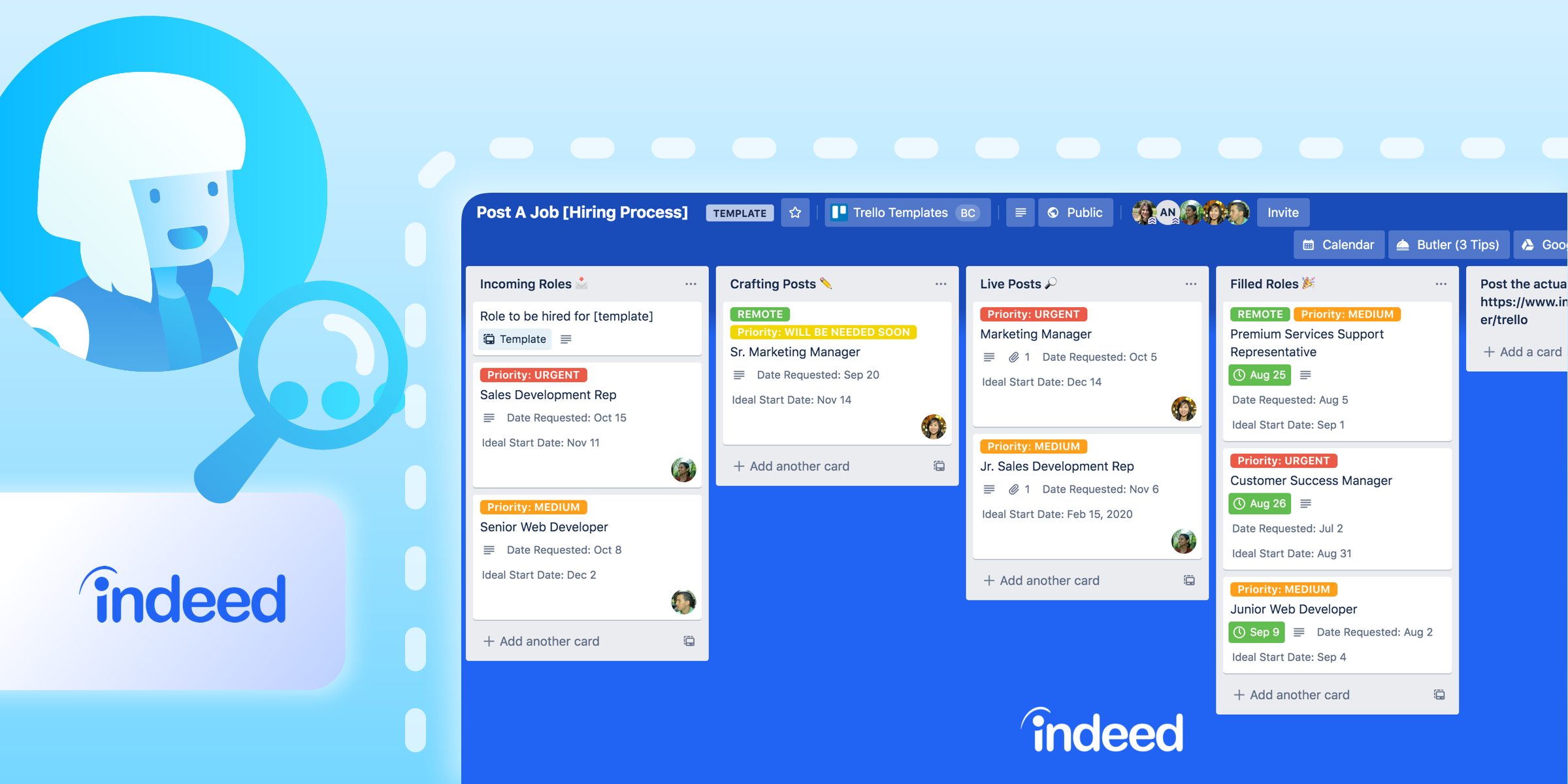 How To Use Trello And Indeed To Hire A Dream Team