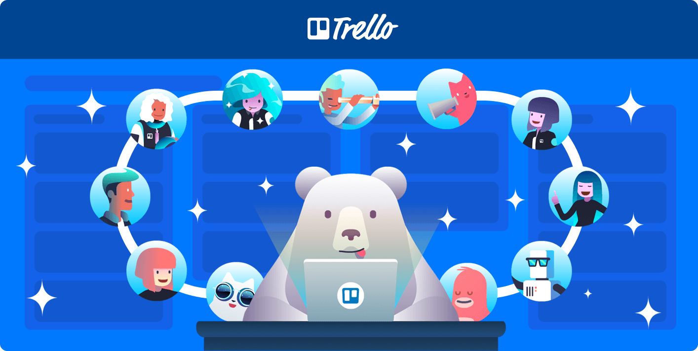 Remote Team Trello Boards