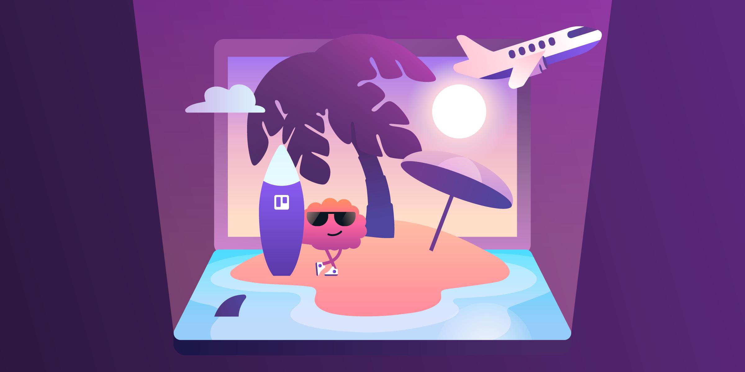 Como se desligar do trabalho e descansar nas férias (de verdade)!
